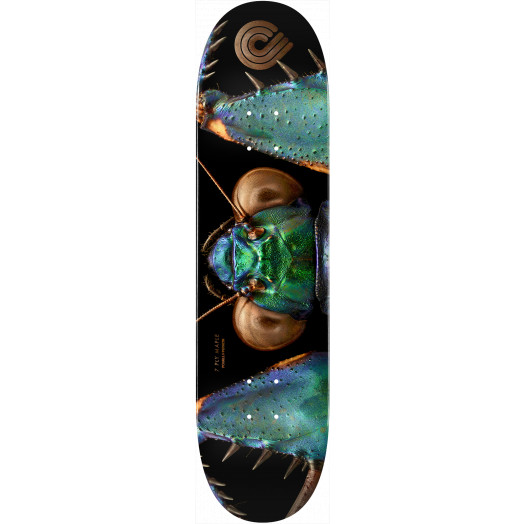 Powell Peralta Biss Bark Mantis Skateboard Deck - 245 K21 8.75 x