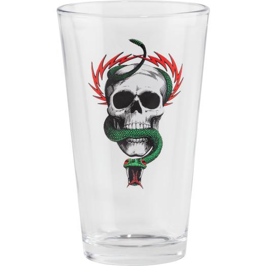 Powell Peralta Pint Glass McGill Skull & Snake