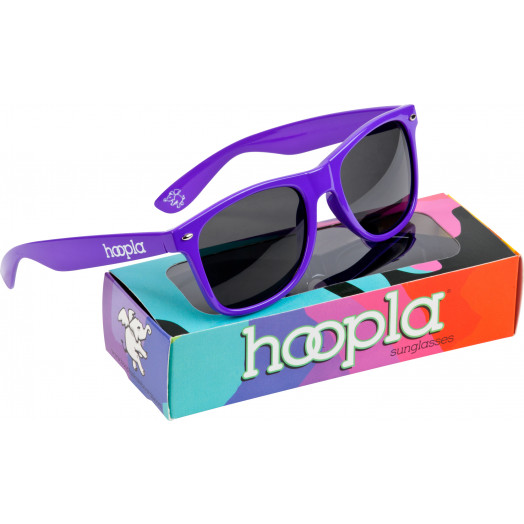 hoopla Sunglasses - Purple
