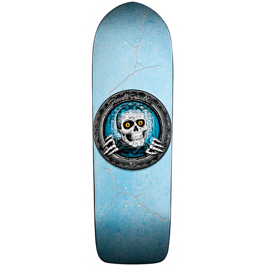 Powell Peralta Pool Light Ripper Skateboard Deck Turquoise - 10 x 32.375