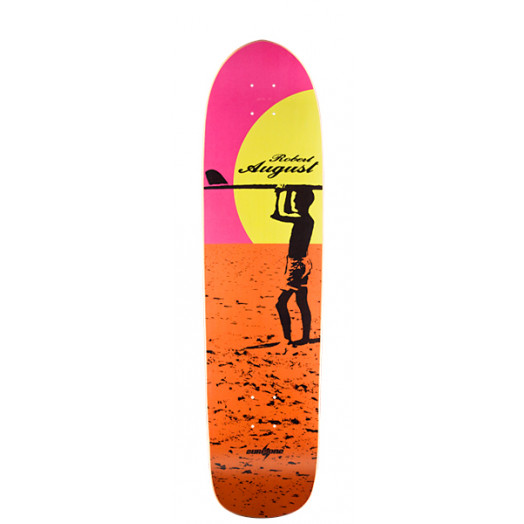 Surf One Robert August 4 Skateboard Deck - 9.375 x 36.125