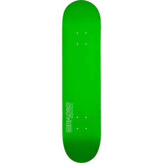 Mini Logo 126 K12 Skateboard Deck Green - 7.625 x 31.625