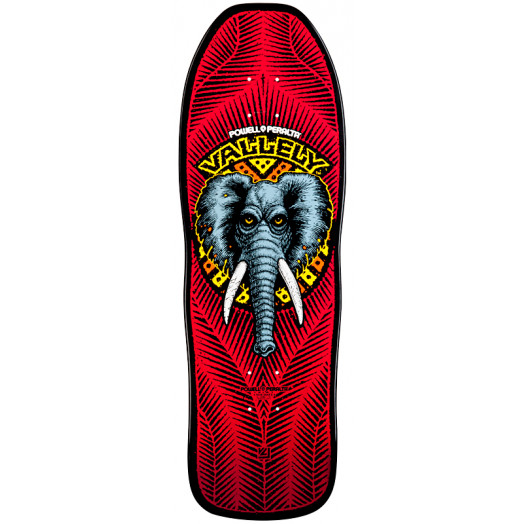 Powell Peralta Mike Vallely Elephant Skateboard Deck Red - 10 x 30.25