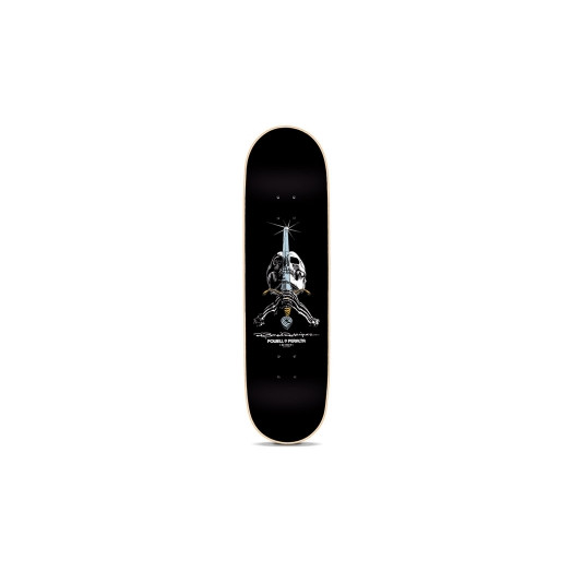 Powell Peralta Rodriguez Now Complete Skateboard Black - 8.375 x 32.5
