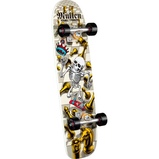 Bones Brigade® Rodney Mullen 5th Series Reissue Complete Skateboard White - 7.4 x 27.625