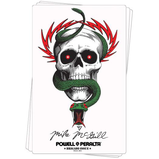 Bones Brigade® McGill Skull & Snake Sticker (20 pack)