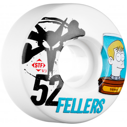 BONES WHEELS STF Pro Fellers Header 52mm 4pk
