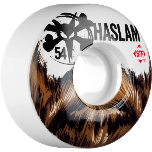 BONES WHEELS STF Pro Haslam Beard 54mm 4pk