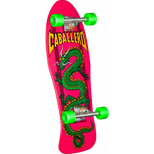 Powell Peralta Cab Chinese Dragon Complete Assembly Pink - 10 x 30