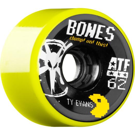 BONES WHEELS ATF Filmer Ty Evans 62mm - Yellow (4 pack)