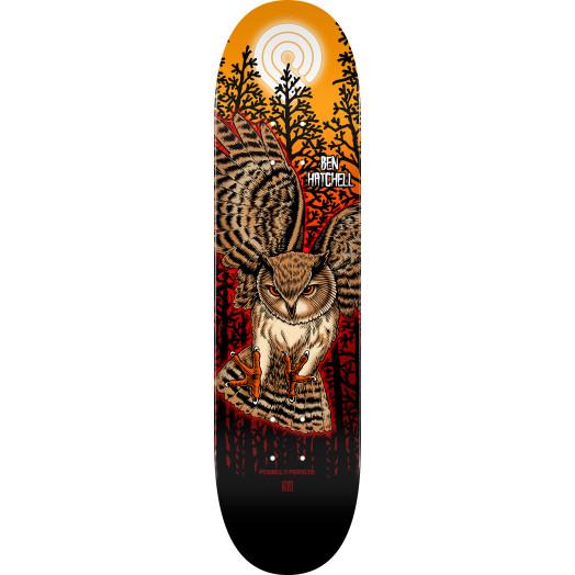 Powell Peralta Pro Ben Hatchell Owl 2 Skateboard Deck - Shape 248 - 8.25 x 31.95