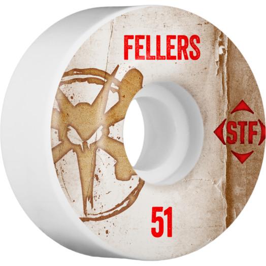 BONES WHEELS STF Pro Fellers Team Vintage Wheel 51mm 4pk