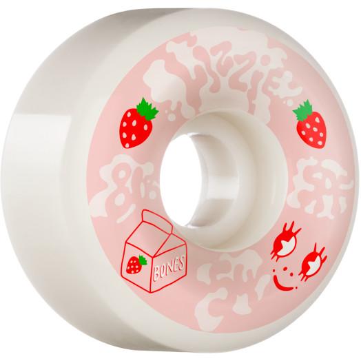 BONES WHEELS PRO SPF Skateboard Wheels Lizzie Armanto Spilt Milk 54 P6 Wide-Cuts 81B 4pk
