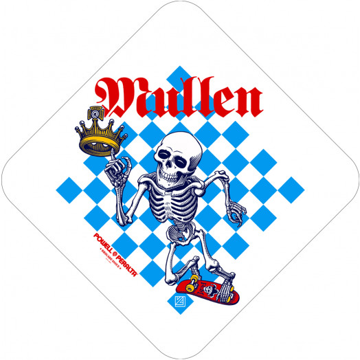 Bones Brigade® Mullen Chess Sticker (Single)