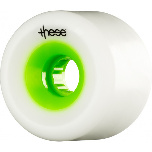 these wheels Free Ride Centerset FRF 727 66mm 78a Green Hub (4 pack)