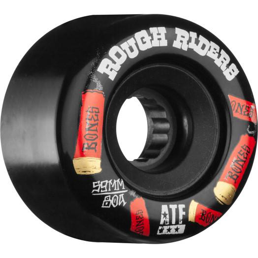 BONES ATF Rough Riders Shotgun 59mm Skateboard Wheels 4pk