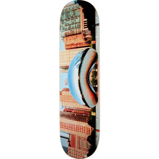 "Mini Logo Chevron ""11"" Skateboard Deck 242 City Chicago - 8 x 31.45"