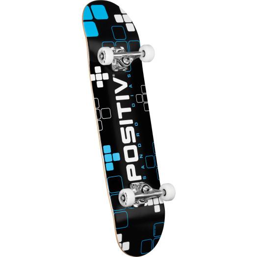 Positiv Sandro Dias Digital Series Complete Skateboard - 7.88 x 31.67