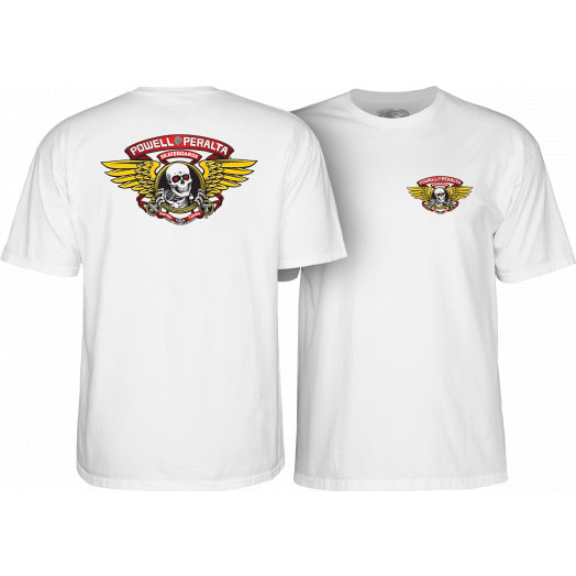 Powell Peralta Winged Ripper T-shirt - White
