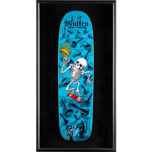 Bones Brigade® Shadowbox Mullen BLEM Skateboard Deck Signed by Mullen