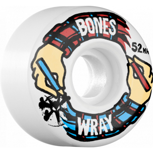 BONES WHEELS STF Pro Wray Hands 52mm wheels 4pk
