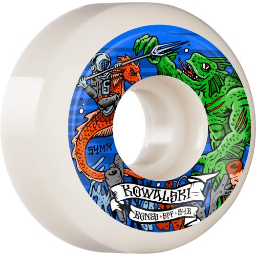 BONES WHEELS PRO SPF Skateboard Wheels Kowalski Kraken 54mm P5 Sidecut 84B 4pk