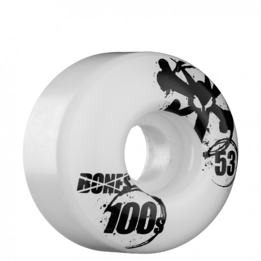 BONES WHEELS OG 100s 53mm - White (4 pack)