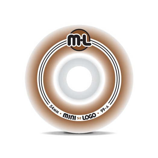Mini Logo S-2 Wheels 54/99a(4pack)