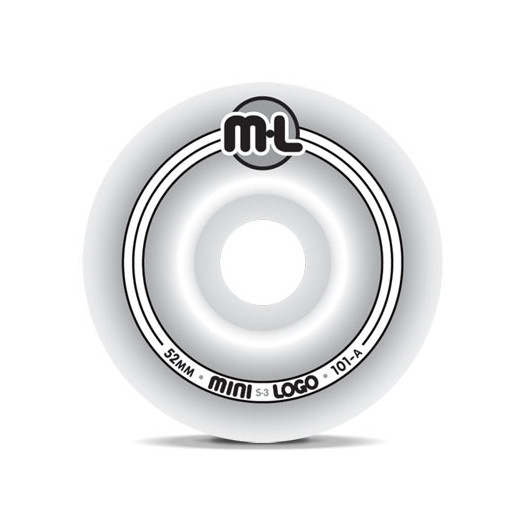 Mini Logo S-3 Wheels 52/101a