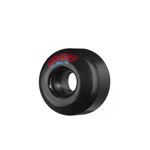 Mini Logo S-3 50mm 101a - Black (4 pack)