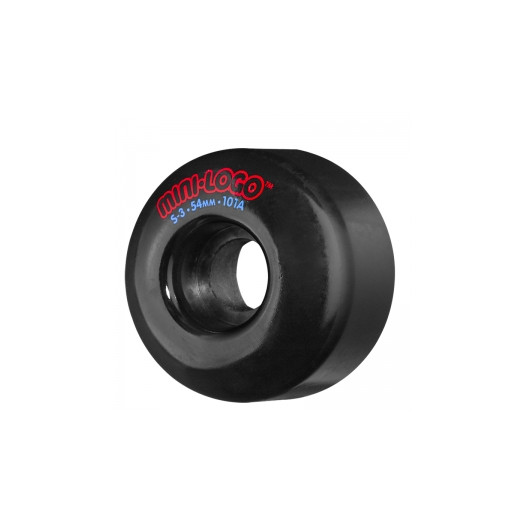 Mini Logo S-3 54mm 101a - Black (4 pack)