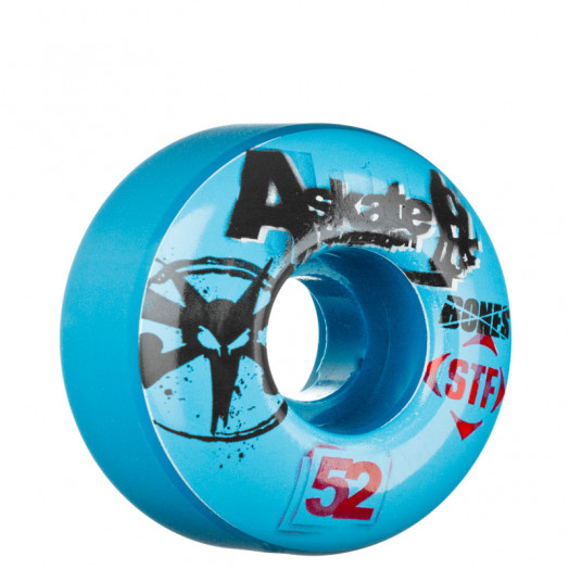 BONES WHEELS STF Collabo A-Skate Benifit 52mm (4 pack)