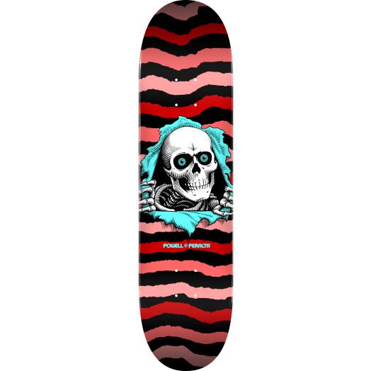 Powell Peralta Ripper Skateboard Deck Red 245 K21 - Shape 247 - 8 x 31.45