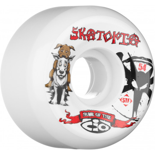 BONES WHEELS STF Collabo Skatopia Style 54mm (4 pack)