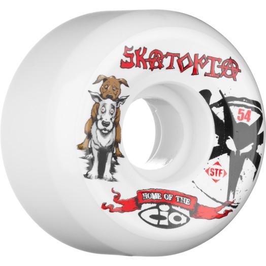 BONES WHEELS STF Collabo Skatopia Style 54mm (4 pack)