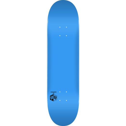 """MINI LOGO DETONATOR """"15"""" SKATEBOARD DECK 191 K16 BLUE - 7.5 X 28.65 - MINI"""