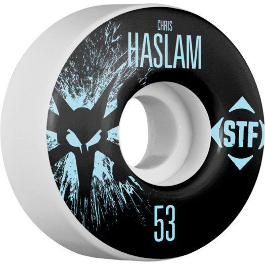 BONES WHEELS STF Pro Haslam Team Wheel Splat 53mm 4pk
