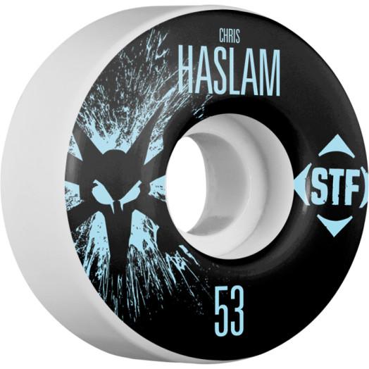 BONES WHEELS STF Pro Haslam Team Wheel Splat 53mm 4pk