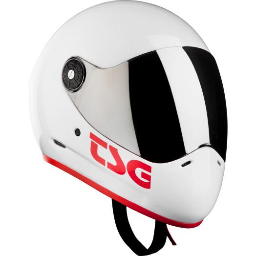 TSG Pass Helmet White