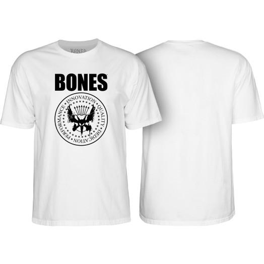 BONES WHEELS Joey T-shirt White
