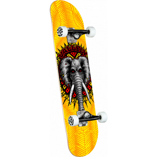 Powell Peralta Vallely Elephant Yellow Complete Skateboard - 8 x 31.45