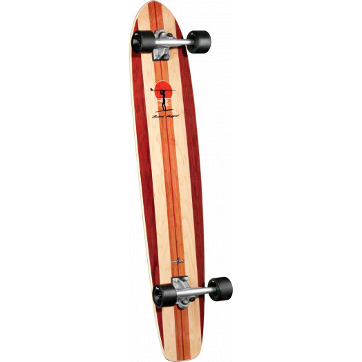 Surf One Robert August II Complete Skateboard - 9 x 43.75