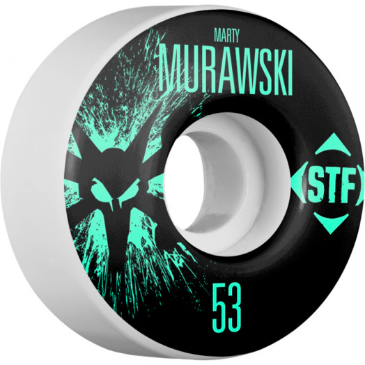 BONES WHEELS STF Pro Murawski Team Wheel Splat 53mm 4pk