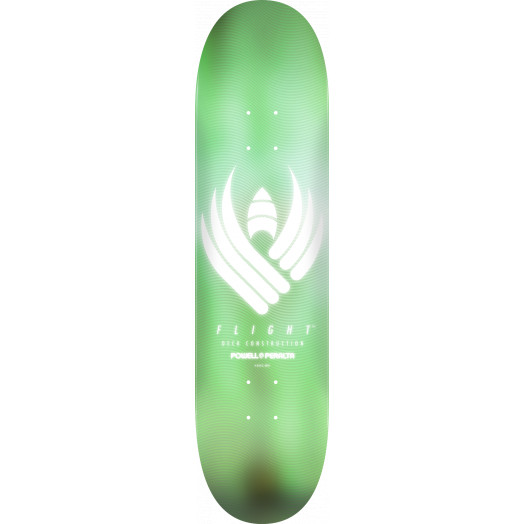 Powell Peralta Flight® Skateboard Deck Glow Mint - Shape 248 - 8.25 x 31.95