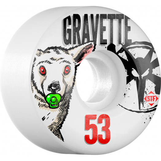 BONES WHEELS STF Pro Gravette Pacifier 53mm 4pk