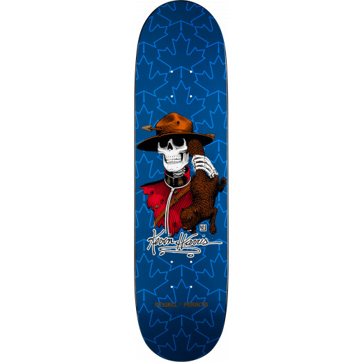 Powell Peralta Kevin Harris Mountie Deck Navy - 8 x 31.25