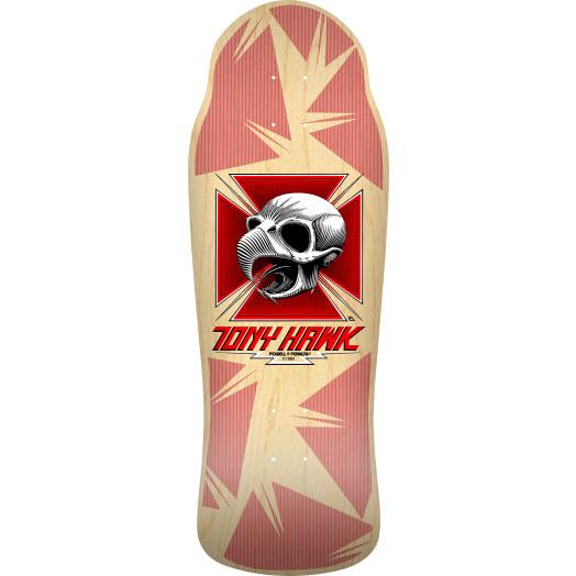 PRE-ORDER Bones Brigade® Tony Hawk 11th Series Reissue Skateboard Deck Natural - 10.41 x 30.28
