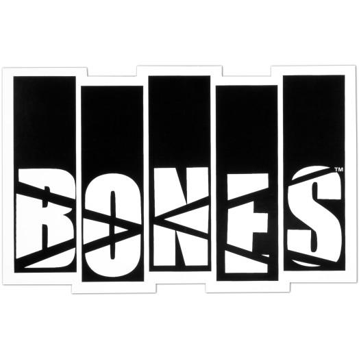 BONES WHEELS Flag Sticker Single