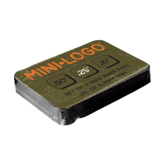 "Mini Logo .25"" Riser Pads (2 pack)"