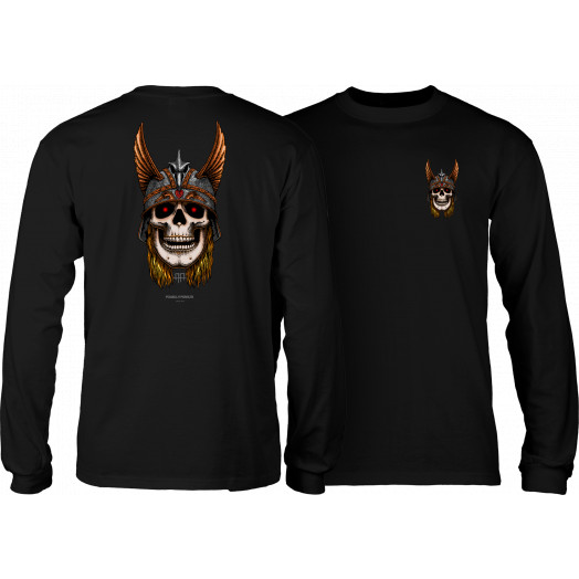 Powell Peralta Andy Anderson Skull L/S Shirt - Black